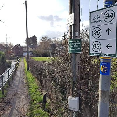 Pelgrimsweg tussen Aken en Maastricht
